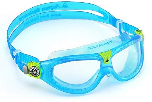 Aqua Sphere Seal Kid 2 Swim Goggle, Clear Lens / Aqua