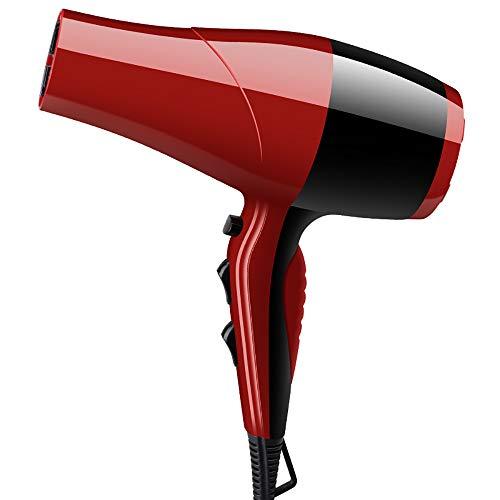 QAZWSX Asciugacapelli per La Casa,asciugacapelli Professionali,asciugacapelli Temperatura Costante Intelligente Protezione da Surriscaldamento Progettazione di Riduzione del Rumore