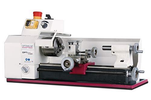 Optimum Drehmaschine OPTIdrill TU 1503V (Gleichstrommotor, regelbare Drehzahl, Not-Halt-Schlagschalter), 3420260