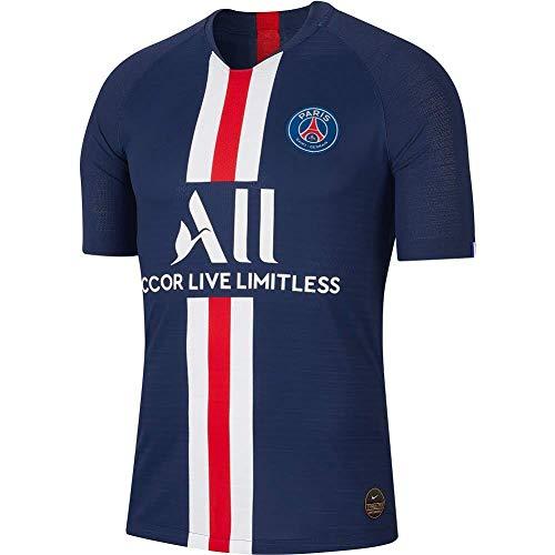 Crstal Herren Breathe Trikot Fußball-T-Shirt,2019-20 Mbappe #7 Fußball Jersey and Shorts Set(Size:Klein)