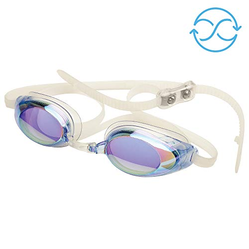 Price comparison product image FINIS Lightning Goggles (Blue / Mirror)
