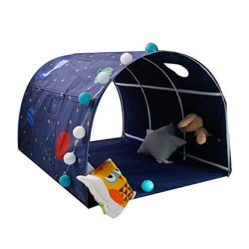 Spielzelt, Kinder Tunnel Bettzelt,Junge Mädchen Kriechen Tunnel, Kinder Tunnel Für Hochbett Spielbett Etagenbett Für Kleinkinder, Nur das Zelt, kein anderes Zubehör