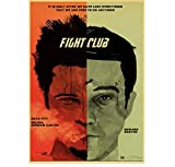 MTHONGYAO Poster Klassiker Brad Pitt Film Fight Club Retro