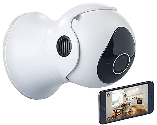 7links Pan Tilt Kamera: Pan-Tilt-IP-Überwachungskamera mit Full HD, WLAN, App, 360°, IP66 (Pan Tilt IP Camera)
