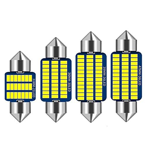 Canbus Interior del Coche Bombillas LED Kit de luz de matrícula de Lectura de Mapa de Domo, para Toyota Land Cruiser 70 80100200 Prado 90120150 FJ