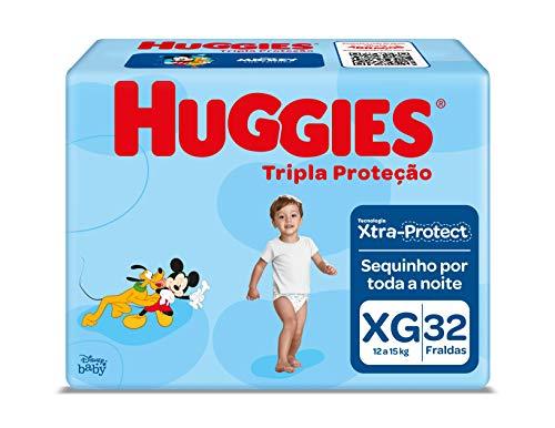 Huggies Fralda Tripla Proteção Mega XG, 42 Fraldas