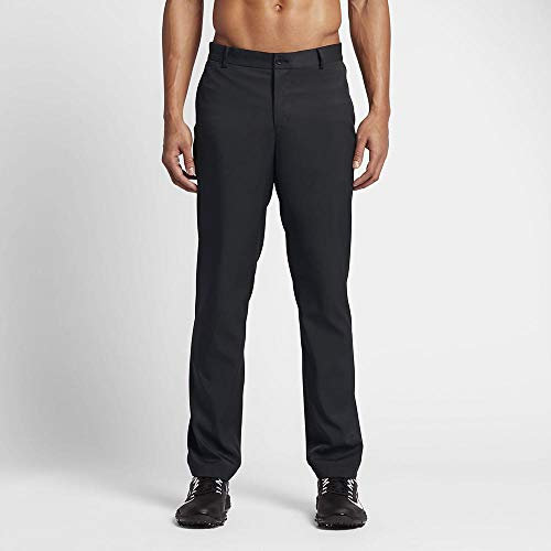 NIKE Modern Fit Chino Pantalón Largo de Golf, Hombre, Negro, 40/32