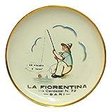 Piatto in Ceramica Richard ginori la Fiorentina Via cardassi 72 Bari Gio Ponti