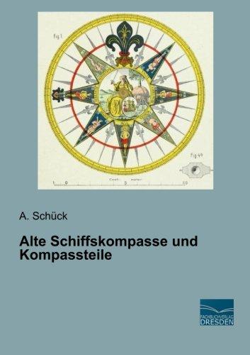 Alte Schiffskompasse und Kompassteile