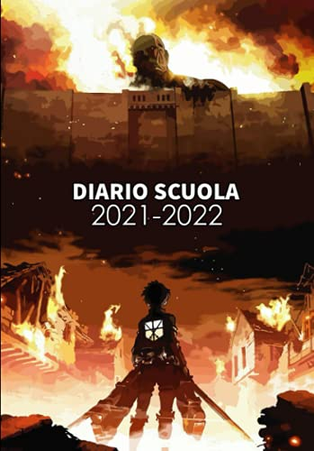Diario Scuola 2021-2022: Agenda Scolastica 2021 2022 Giornaliera Con 11 Mesi Settembre 2021 a Luglio 2022 | Ideale Come Diario Elementari, Diario Scuola Media, Diario Superiori | A5