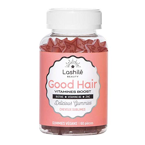 Lashilé - Good Hair Vitamines Boost - 60 pcs - 150g