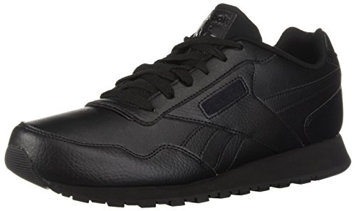Black Leather Working Shoes for Men