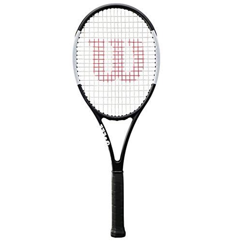 Raquetas Tenis Tenis para Hombres Y Mujeres Deportivas Profesionales Carbono Integrado, Alta Resiliencia (Color : Black, Size : Pro Staff 97cv)