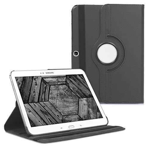 kwmobile Cover Compatibile con Samsung Galaxy Tab 3 10.1 P5200 P5210 - Custodia Cover per Tablet Rotazione 360° Stand Similpelle - Protezione Tab Pad