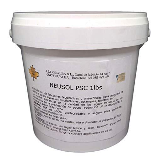 Desconocido Neusol PSC 1lbs. Bacterias Naturales seleccionadas para Limpiar el Agua Verde (Algas) en estanques.