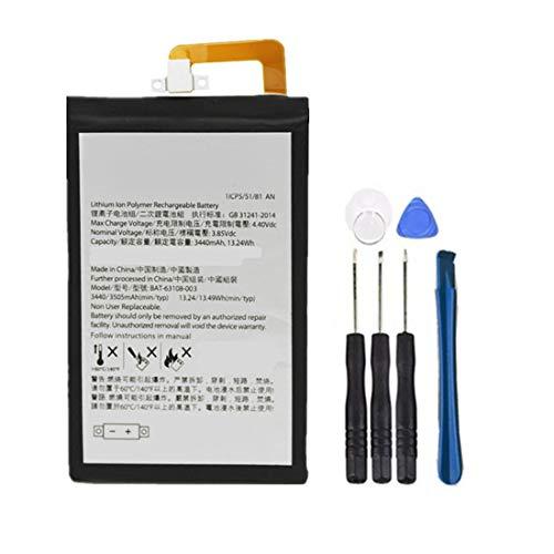 Bestome Batería de repuesto compatible con BlackBerry KeyOne BBB100-1 BBB100-2 BBB100-3 BBB100-6...