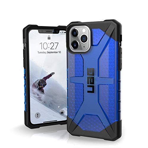 UAG Designed for iPhone 11 Pro [5.8-inch Screen] Plasma Feather-Light Rugged [Cobalt] Military Drop Tested iPhone Case