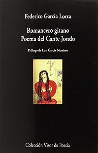 Romancero gitano. Poema del Cante Jondo: 987 par Federico García Lorca