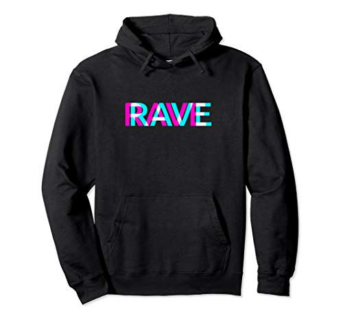 Rave Outfit Trippy Raver EDM Festival Kleidung Acid Techno Pullover Hoodie