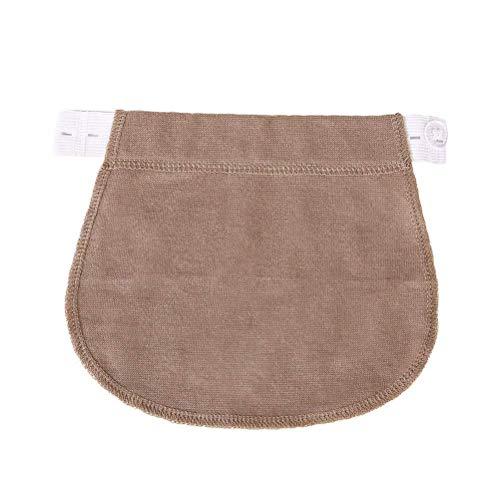 Huixin Ventre De Femmes De Maternité Confortable Doux Maternité Vêtements Vintage Respirant Maternité Culotte Mode Couleurs Unies De Grossesse (Color : Khaki, Size : One Size)