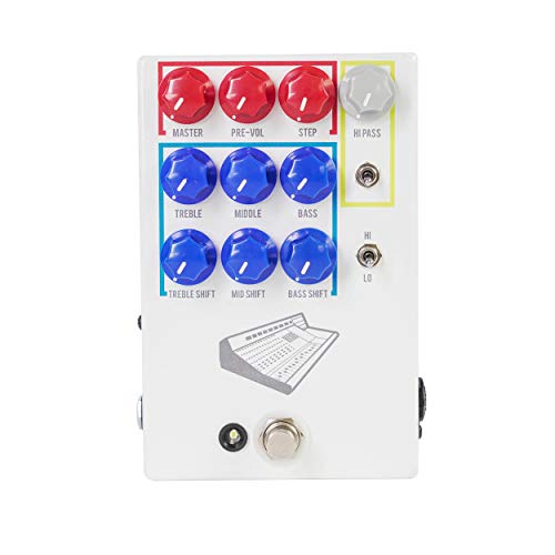 JHS Pedals Colour Box V2 Preamp Guitar Effects Pedal (CBOXV2)