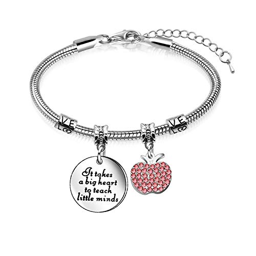 Appreciation Gift,Women Adjustable Bracelet Bangle,Gift for Teacher Mum