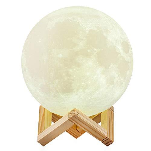 Lámpara de luna 20 cm 16 colores