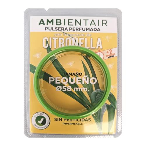 Ambientair Pulsera antimosquitos, 1 Pieza. 330 Horas de duración. Repelente
