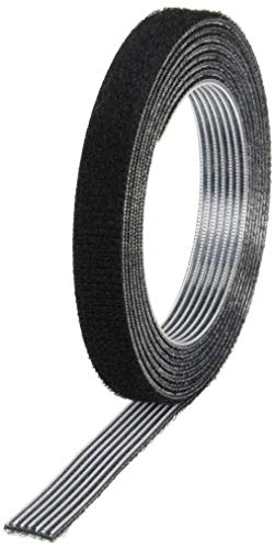 TRUSCO(トラスコ) マジックバンド結束テープ 両面 黒 10mm×1.5m MKT1015BK - トラスコ中山(TRUSCO)