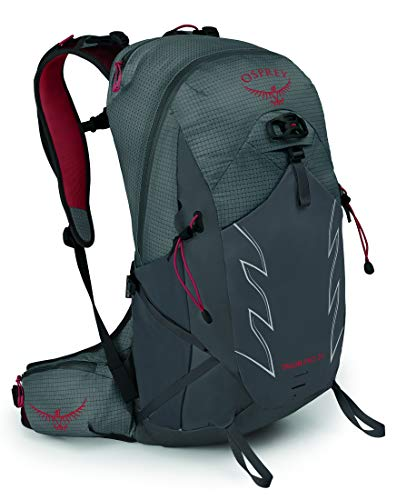 Osprey Talon Pro 20 Men's Hiking Backpack, Carbon, Large/X-Large
