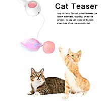猫のおもちゃのスティックテレスコピックティーザーインタラクティブグッズペット子猫のための完璧なギフト