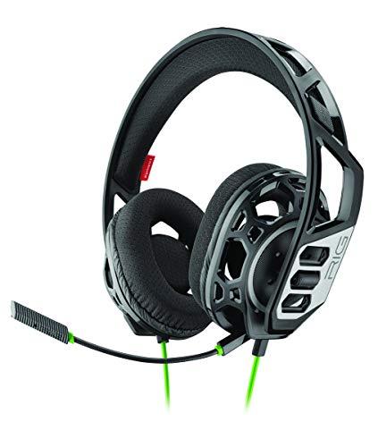 Plantronics RIG 300 HX auricular con micrófono Binaural Diadema Negro - Auriculares...