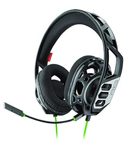 Plantronics RIG 300 HX auricular con micrófono Binaural Diadema Negro - Auriculares con micrófono (Consola de juegos, Binaural, Diadema, Negro, Alámbrico, 1,3 m) - Compatible con XBX