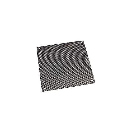 Gmasuber PVC negro PC refrigerador ventilador colector polvo filtro a prueba de polvo cubierta computadora malla reemplazable