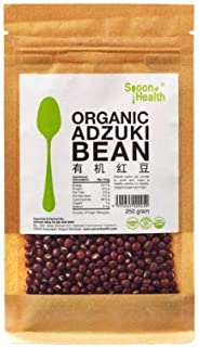 SPOON HEALTH Organic Adzuki Bean 250g-Adzuki Beans are Simple to Cook and Make a Healthy Addition to Salads,Veggie Burgers and dips