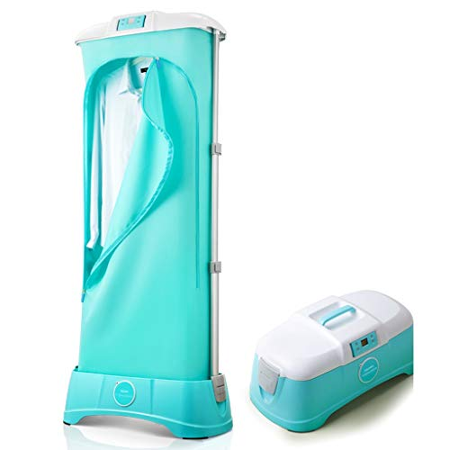Yhz@ Mini essiccatore portatile integrato con funzione di risparmio energetico, piccolo essiccatore pieghevole, essiccatore per riscaldamento Asciugatrici ( Colore : Blu , dimensioni : Remote type )