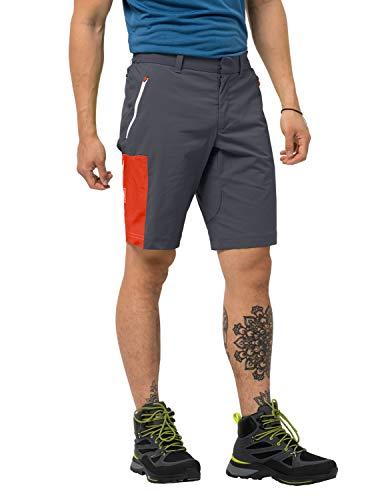 Jack Wolfskin Herren Overland Wander Shorts, Ebony, 50 EU