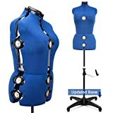 Best Dress Forms - 13 Dials Adjustable Dress Form, Large Review