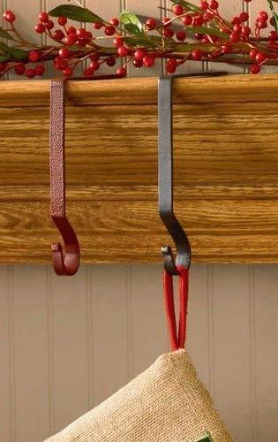 Park Designs Black Iron Christmas Stocking Hanger