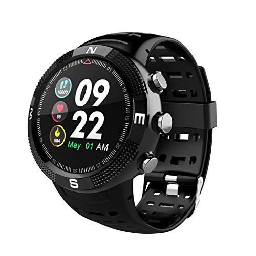 LQIAN Fitness Armband mit Pulsmesser Wasserdicht IP67 Tracker Smartwatch Aktivität 0,96 Zoll Herzfrequenz Schrittzähler Uhr Sportuhr Für Damen Herren Anruf Hinweis Kompatibel mit iPhone Android