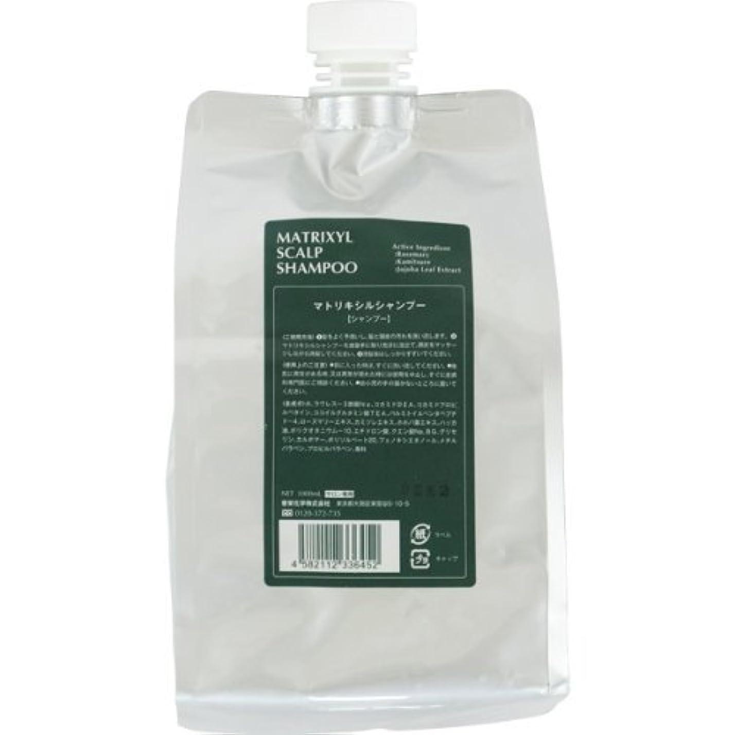 ムスタチオプールクレジット香栄化学 マトリキシル スキャルプシャンプー レフィル 1000ml