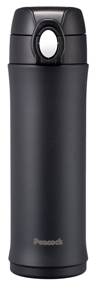 ピーコック ステンレスボトル 【スリムマグ】 0.4L マットブラック AMH-40(BD)