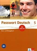 Passwort Deutsch: Kurs- Und Ubungsbuch 5 MIT Audio-CD (German Edition)