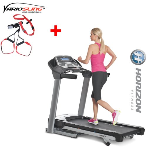 Horizon Fitness Laufband Paragon 6 Fitnessgerät, Sportgerät, Heimtrainer