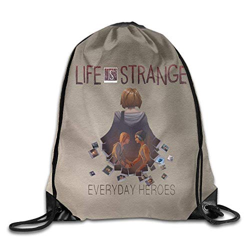 Unbekannt DoDoUp Rucksack mit Kordelzug AK79 Superb Life is Strange Poster Drawstring Backpack White