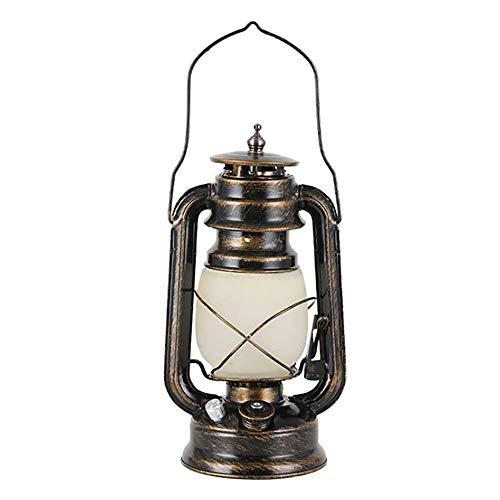 tellaLuna LáMparas Vintage Recargables para Exteriores con IluminacióN Constante, Llama y Modo de RespiracióN, Interruptor Giratorio, Linterna Regulable