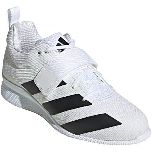 adidas Adipower Weightlifting II Mens Trainer Shoes White/Black Size 13