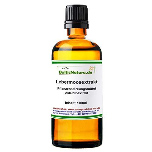 BalticNatura Lebermoosextrakt (100 ml) Pflanzenstärkungsmittel Lebermoos-Extrakt