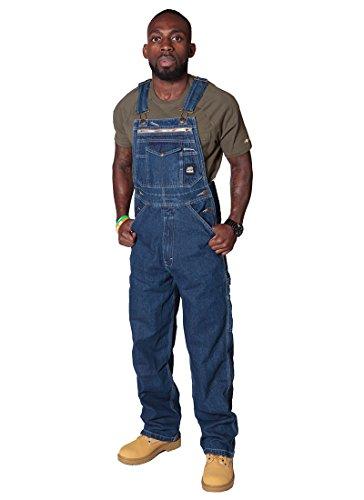Arbeitslatzhose Stonewash Herren Latzhose Denim jeans-latzhosen männer Berne USA