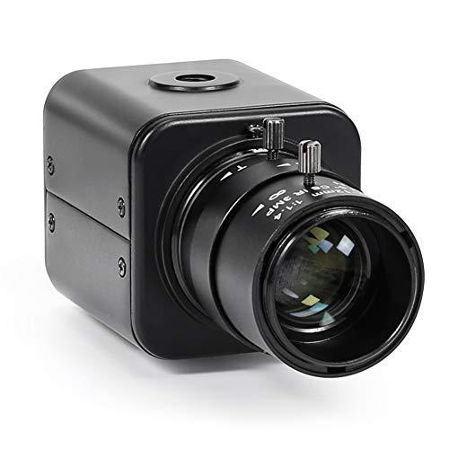 CrazyFire 1080P HD SDI WDR Camera CCTV Mini Camera Indoor Security Camera,Digital Surveillance Camera with 2.8-12mm Manual Varifocal Lens